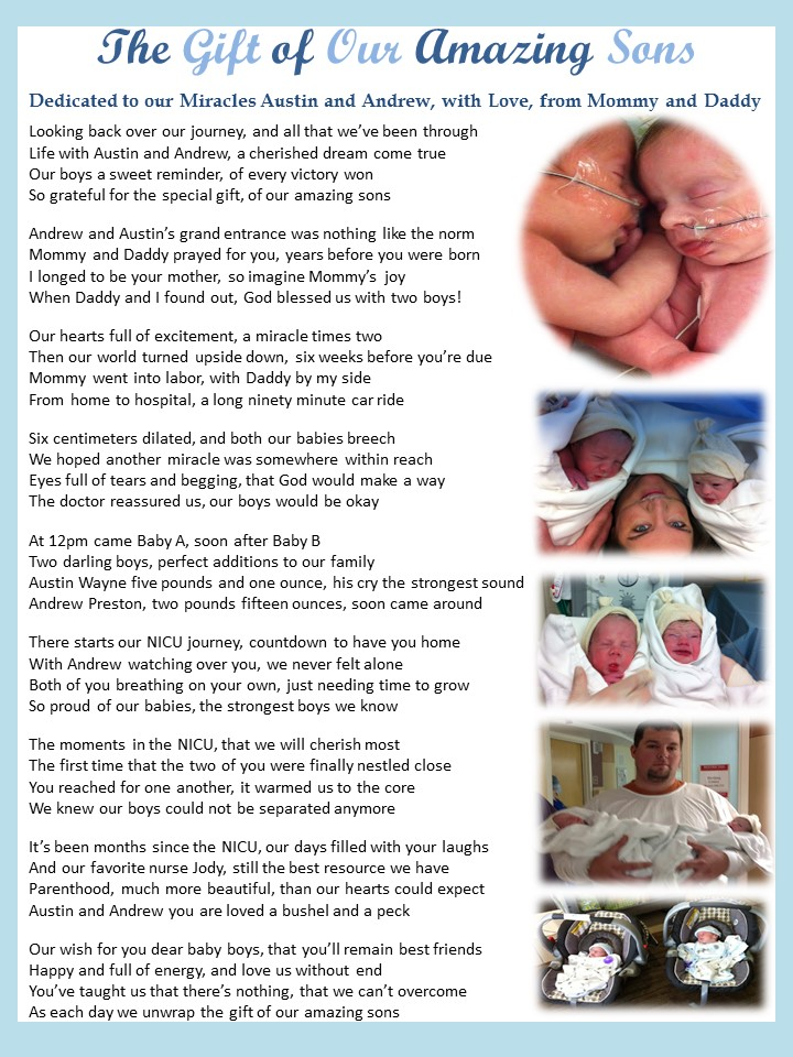 Praying4MyPreemie – I Believe in Miracles – Thanks to My 24 Weeker